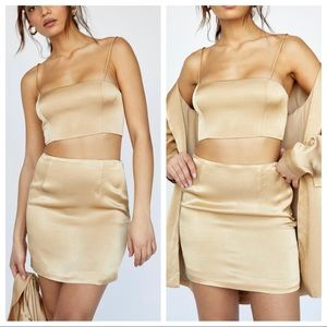 The Axel Set Fame and Partners x Free People Gold